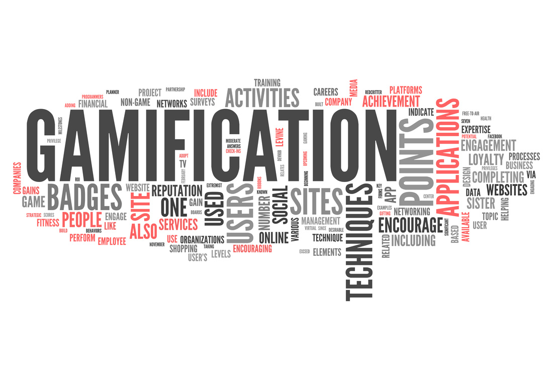 Gamification and related words picture