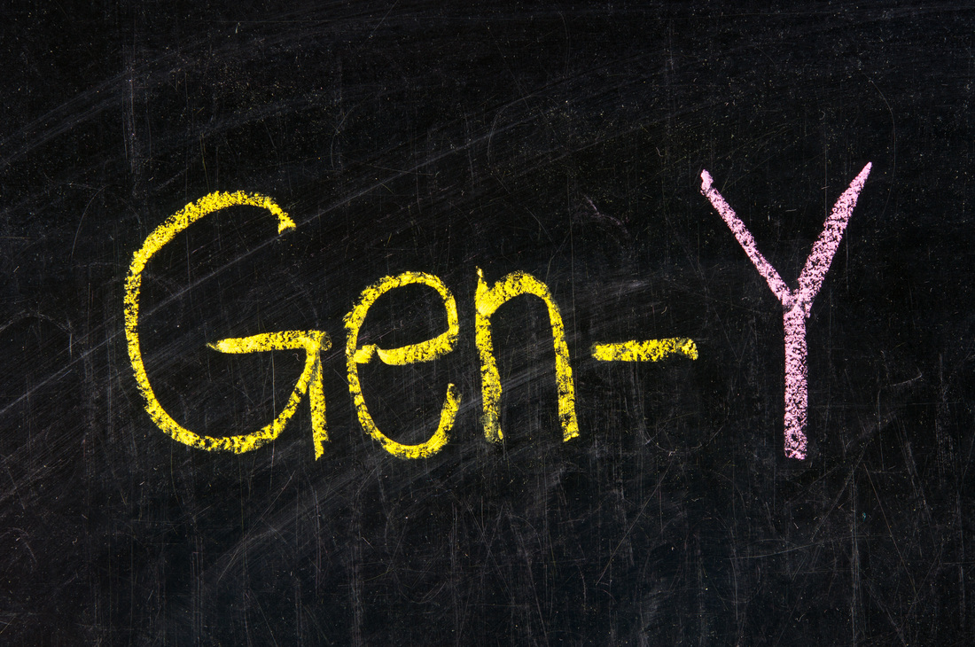Generation Y on Chalkboard
